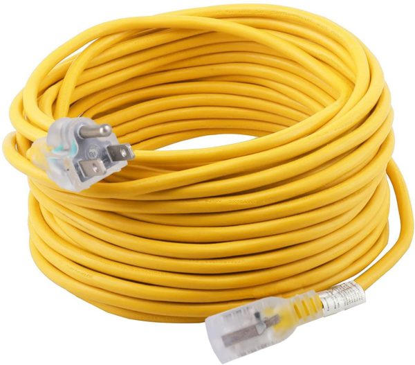 100 ft Extension Cord 12/3